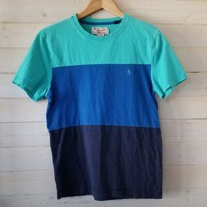 PENGUIN blue tshirt